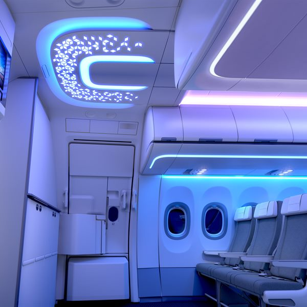 Entrance Area - A320 Airspace Cabin